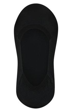 Женские подследники cotton step FALKE черного цвета, арт. 44083   Фото 1
