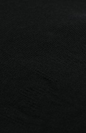 Женские подследники cotton step FALKE черного цвета, арт. 44083   Фото 2