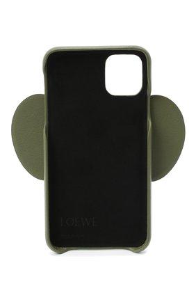 Мужской чехол для iphone 11 LOEWE зеленого цвета, арт. C719C80X01 | Фото 2