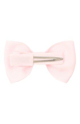Детская заколка boutique bow MILLEDEUX светло-розового цвета, арт. 115-CGC-04 | Фото 2
