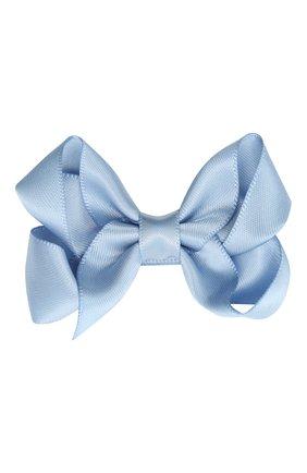 Детская заколка boutique bow MILLEDEUX голубого цвета, арт. 332-SC-01 | Фото 1