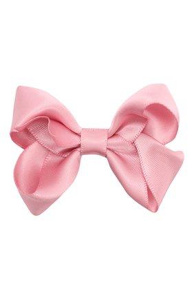 Детская заколка boutique bow MILLEDEUX розового цвета, арт. 158-SC-01 | Фото 1