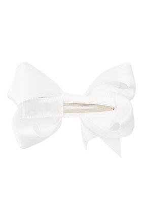 Детская заколка boutique bow MILLEDEUX белого цвета, арт. 029-SC-01 | Фото 2