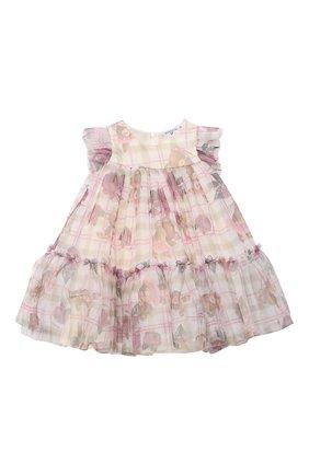 Женский платье MONNALISA розового цвета, арт. 396903 | Фото 1