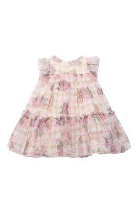 Женский платье MONNALISA розового цвета, арт. 396903 | Фото 2