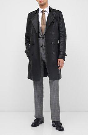 Мужские кожаные монки TOM FORD черного цвета, арт. J1006G-ANU | Фото 2