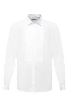 Мужская хлопковая сорочка VALENTINO белого цвета, арт. UV3ACR8C3GU | Фото 1
