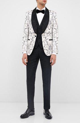 Мужская хлопковая сорочка VALENTINO белого цвета, арт. UV3ACR8C3GU | Фото 2