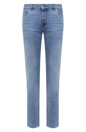 Мужские джинсы BOSS синего цвета, арт. 50440761 | Фото 1