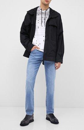 Мужские джинсы BOSS синего цвета, арт. 50440761 | Фото 2