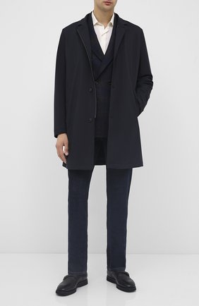 Мужские кожаные монки TOM FORD черного цвета, арт. J1245L-LCL093 | Фото 2