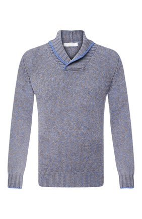 Мужской шерстяной свитер GRAN SASSO голубого цвета, арт. 10107/25701 | Фото 1