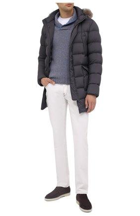 Мужской шерстяной свитер GRAN SASSO голубого цвета, арт. 10107/25701 | Фото 2