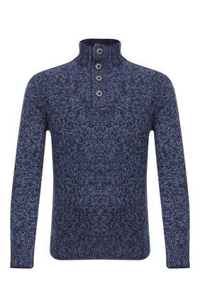 Мужской шерстяной свитер GRAN SASSO голубого цвета, арт. 10102/25704 | Фото 1
