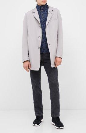 Мужской шерстяной свитер GRAN SASSO голубого цвета, арт. 10102/25704 | Фото 2
