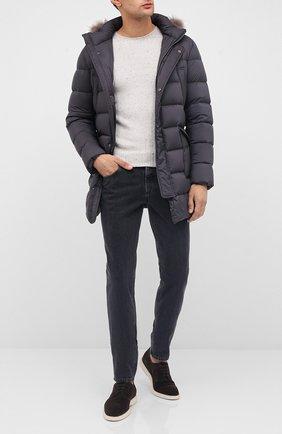 Мужской кашемировый свитер GRAN SASSO светло-бежевого цвета, арт. 24114/26802 | Фото 2