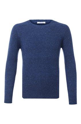 Мужской кашемировый свитер GRAN SASSO синего цвета, арт. 24114/26802 | Фото 1