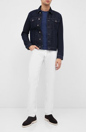 Мужской кашемировый свитер GRAN SASSO синего цвета, арт. 24114/26802 | Фото 2