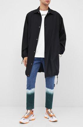 Мужские джинсы OFF-WHITE синего цвета, арт. 0MYA005E20DEN0024500 | Фото 2
