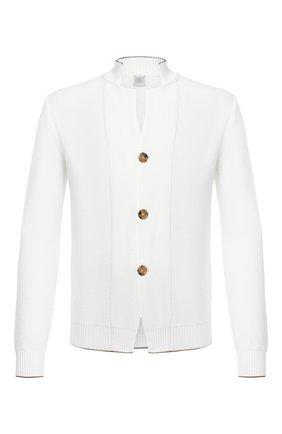 Мужской шерстяной кардиган ELEVENTY белого цвета, арт. B71MAGB15 MAG0B038 | Фото 1
