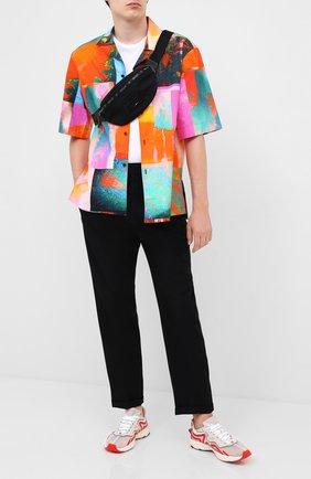 Мужская текстильная поясная сумка redo BALLY черного цвета, арт. RED0/00   Фото 2
