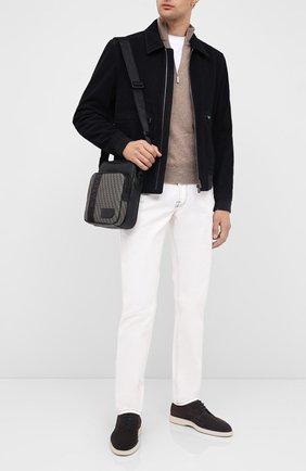 Мужская сумка sebert BALLY коричневого цвета, арт. SEBERT.PBB/70   Фото 2