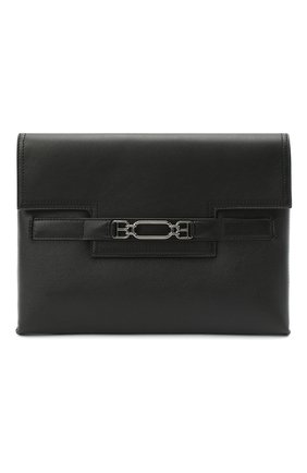 Мужская кожаный клатч volt BALLY черного цвета, арт. V0LT/00 | Фото 1