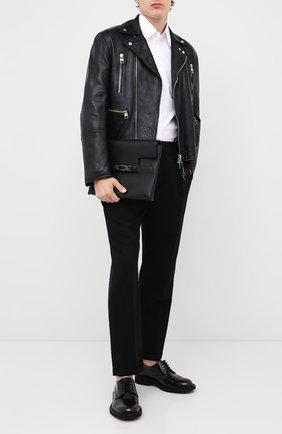 Мужская кожаный клатч volt BALLY черного цвета, арт. V0LT/00 | Фото 2