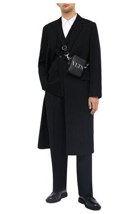 Мужской шерстяной пиджак VALENTINO черного цвета, арт. UV3CEA206DY | Фото 2