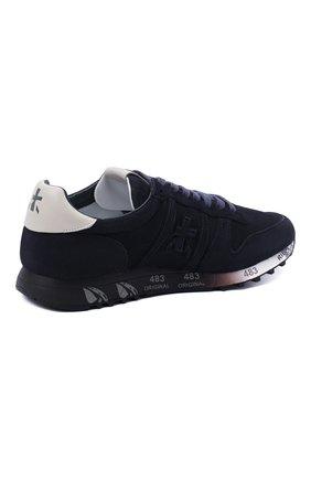 Мужские замшевые кроссовки eric PREMIATA темно-синего цвета, арт. ERIC/VAR4936 | Фото 4