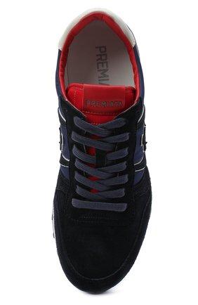 Мужские замшевые кроссовки eric PREMIATA темно-синего цвета, арт. ERIC/VAR4945 | Фото 5