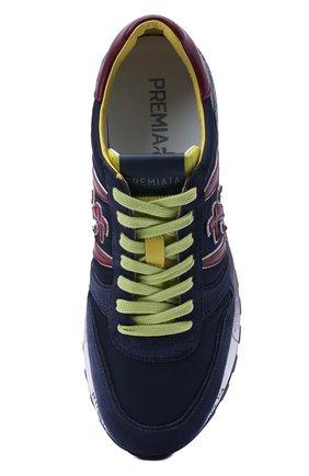 Мужские комбинированные кроссовки lander PREMIATA синего цвета, арт. LANDER/VAR4947 | Фото 5