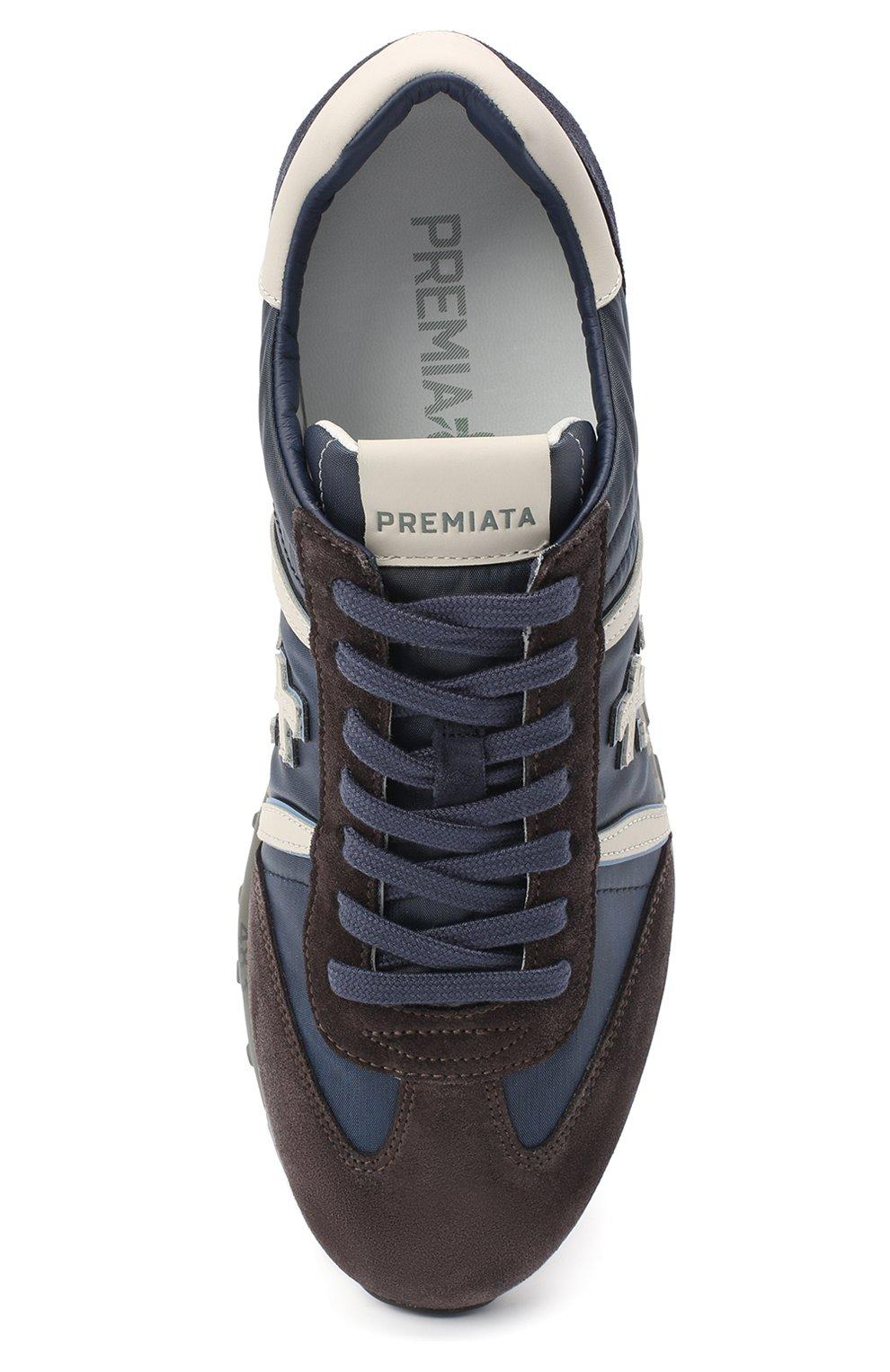 Мужские комбинированные кроссовки lucy PREMIATA синего цвета, арт. LUCY/VAR4931 | Фото 5
