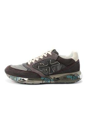 Мужские комбинированные кроссовки zac-zac PREMIATA серого цвета, арт. ZAC-ZAC/VAR3547 | Фото 3