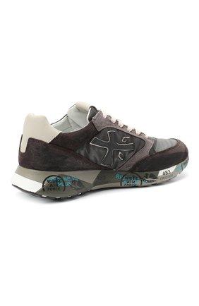 Мужские комбинированные кроссовки zac-zac PREMIATA серого цвета, арт. ZAC-ZAC/VAR3547 | Фото 4