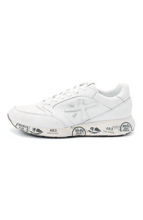Мужские комбинированные кроссовки zac-zac PREMIATA белого цвета, арт. ZAC-ZAC/VAR3831 | Фото 3