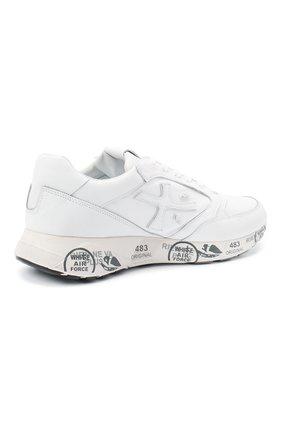 Мужские комбинированные кроссовки zac-zac PREMIATA белого цвета, арт. ZAC-ZAC/VAR3831 | Фото 4