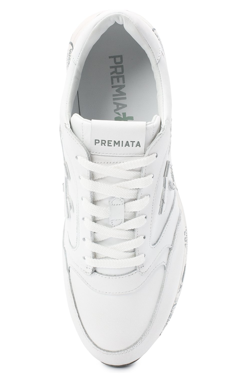 Мужские комбинированные кроссовки zac-zac PREMIATA белого цвета, арт. ZAC-ZAC/VAR3831 | Фото 5
