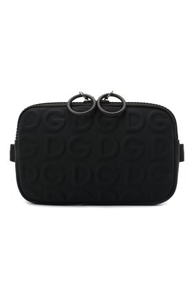 Мужская текстильная сумка DOLCE & GABBANA черного цвета, арт. BM1847/AW141 | Фото 1