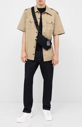 Мужская текстильная сумка DOLCE & GABBANA черного цвета, арт. BM1847/AW141 | Фото 2