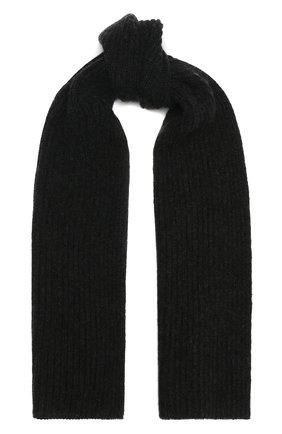 Мужской кашемировый шарф FEDELI темно-серого цвета, арт. 3UI02004 | Фото 1