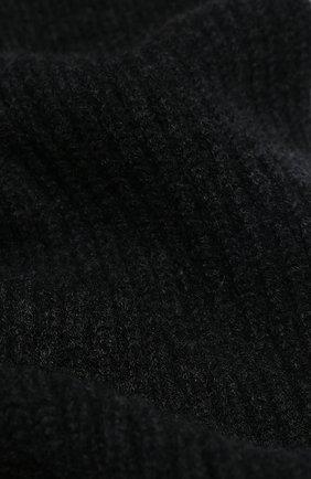 Мужской кашемировый шарф FEDELI темно-серого цвета, арт. 3UI02004 | Фото 2