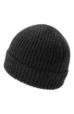 Мужская кашемировая шапка FEDELI темно-серого цвета, арт. 3UI07302 | Фото 2