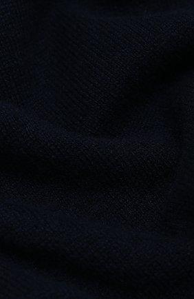 Мужской кашемировый шарф FEDELI темно-синего цвета, арт. 3UI07400 | Фото 2