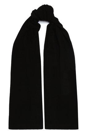 Мужской кашемировый шарф FEDELI черного цвета, арт. 3UI07400 | Фото 1