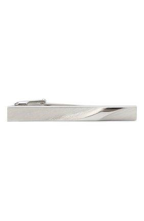 Мужская зажим для галстука LANVIN белого цвета, арт. 9919/3 | Фото 1