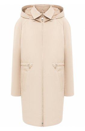 Женская куртка LORO PIANA бежевого цвета, арт. FAL2996   Фото 1