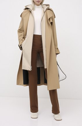 Женская куртка LORO PIANA бежевого цвета, арт. FAL2996   Фото 2