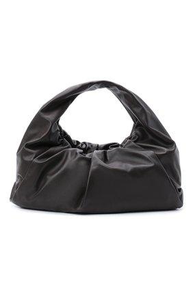 Женская сумка shoulder pouch medium BOTTEGA VENETA темно-коричневого цвета, арт. 607984/VCP40 | Фото 1