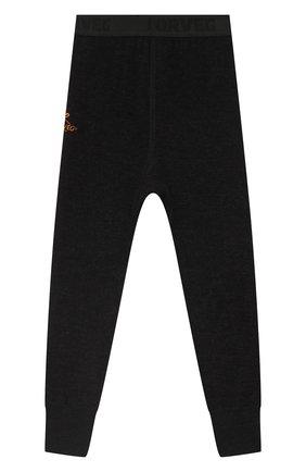 Детские брюки NORVEG серого цвета, арт. 4TWPU003RU-010 | Фото 2
